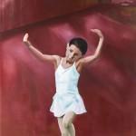 """""""der Tanz"""", 2013, Oel auf Baumwolle, 200 x 140 cm"""