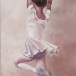 ohne Titel, 2011, Oel auf Baumwolle, 180 x 80 cm