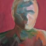 """""""Echo"""" 4, 2020, Oel auf Leinwand, 40 x 30 cm"""