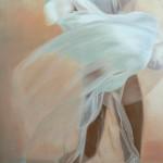 """""""Marilyn"""", 2008, Oel auf Baumwolle, 180 x 95 cm"""