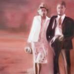 """once with love"" 2, 2020, 80 x 60 cm, Oel auf Leinwand"